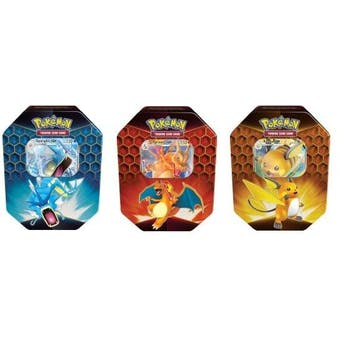 Pokemon Hidden Fates - 3 Tin Set