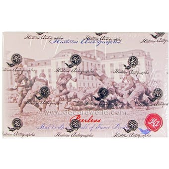 2012 Historic Autograph Multi-Sport Peerless Edition Hobby Box