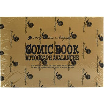 2019 Historic Autographs Comic Book Avalanche Hobby Box