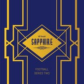 2020 Hit Parade Football Sapphire Edition Series 2 Hobby Box /50 Brady-Brees-Watson