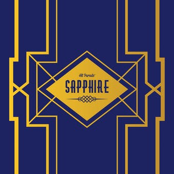 2019/20 Hit Parade Basketball Sapphire Edition Series 6 Hobby Box /50 Zion-Luka-Lebron