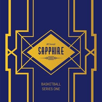 2019/20 Hit Parade Basketball Sapphire Edition Series 1 Hobby Box /50 Jordan-Lebron-Zion