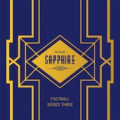 2020 Hit Parade Football Sapphire Edition Series 3 - 6 Hobby Box Case /50 Burrow-Lamar-Allen