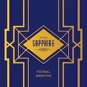 2020 Hit Parade Football Sapphire Edition Series 5 Hobby Box /50 Lamar-Mahomes-Brady