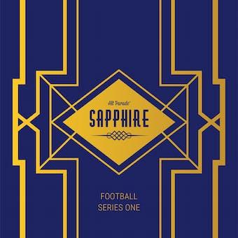 2019 Hit Parade Football Sapphire Edition Series 5 Hobby Box /50 Mahomes-Lamar-Brady