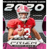 2020 Panini Prizm Draft Picks Football Hobby Hybrid Pack
