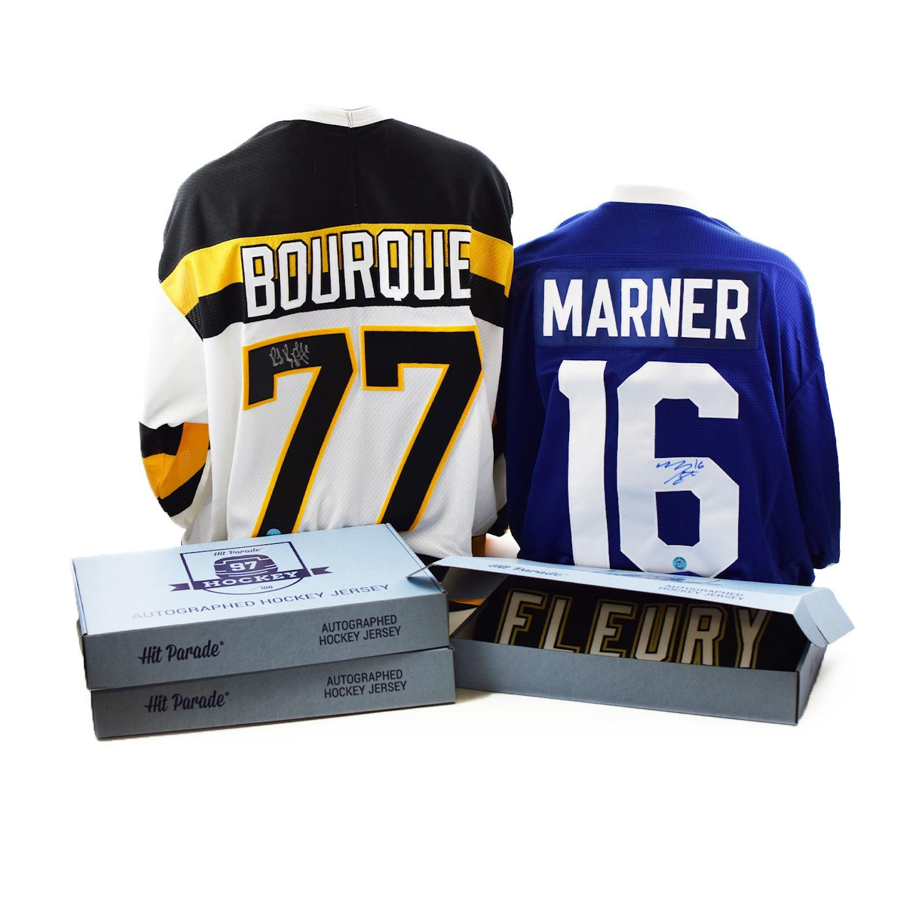 low priced 39b89 7265a 2018/19 Hit Parade Autographed Hockey Jersey Hobby Box - Series 5 - Mario  Lemieux & Mitch Marner!!