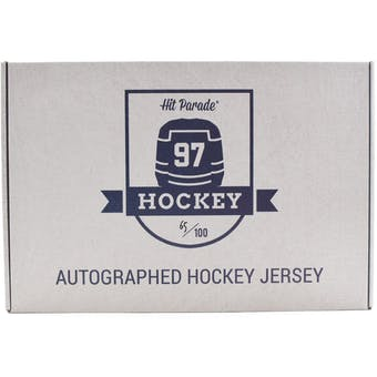 2018/19 Hit Parade Autographed Hockey Jersey Hobby Box - Series 4 - Auston Matthews & Bobby Orr!!!