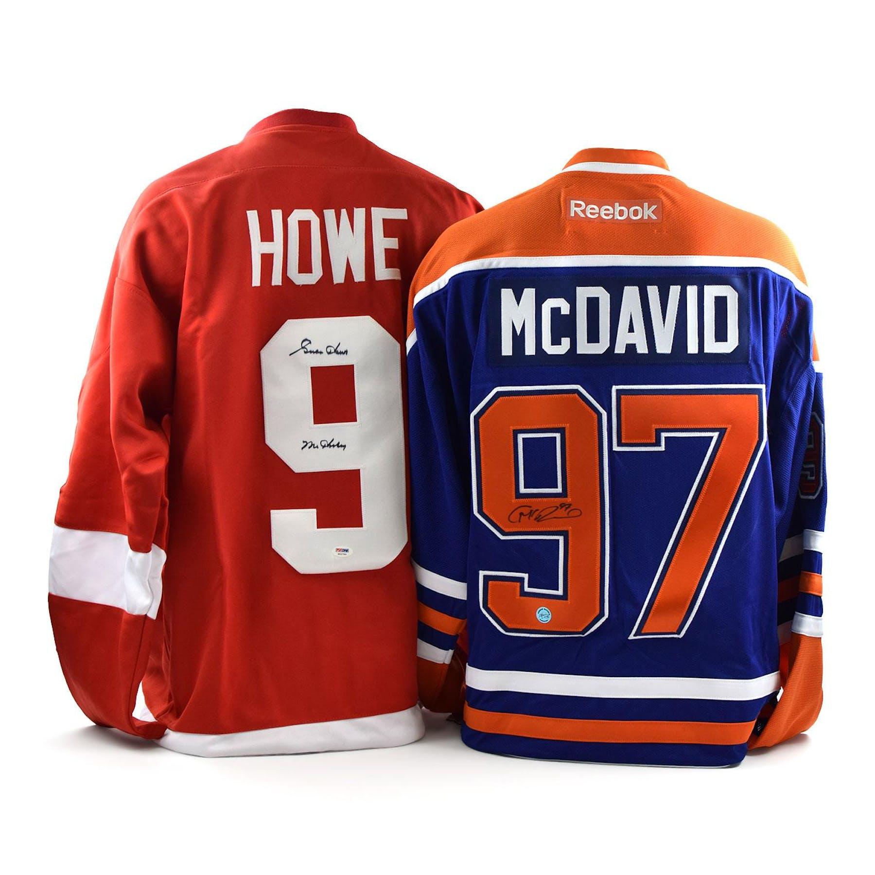 online retailer 75ce9 f45f9 2018/19 Hit Parade Autographed Hockey Jersey BEST OF 7 Hobby Box - Series 1  - Gretzky, McDavid, & Matthews!!!
