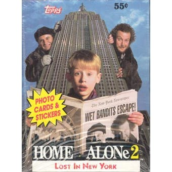 Home Alone 2 Wax Box (1991 Topps)