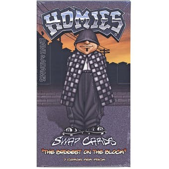"""HUGE Homies """"The Baddest on the Block"""" Trading Cards Box Lot - $75,000+ SRP! 1,000+ Boxes!"""