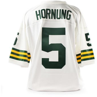 Paul Hornung Mitchell & Ness Jersey Packers Size XL White