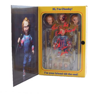 """NECA Child's Play 2 Good Guys Chucky 6"""" Figure Autographed by Alex Vincent"""