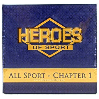 2013 Heroes of Sport: All Sports - Chapter 1 Hobby Box