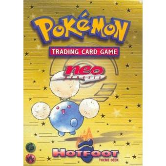 WOTC Pokemon Neo Genesis Hot Foot Theme Deck