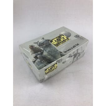 Decipher Star Wars Hoth Limited Booster Box - First Black Border Printing!