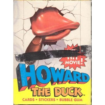 Howard the Duck Wax Box (1986 Topps)