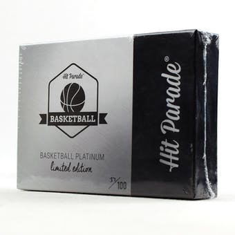 2018/19 Hit Parade Basketball Platinum Limited Edition - Series 2 - Hobby Box /100 Jordan-Lebron