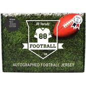 2021 Hit Parade Autographed 1st ROUND EDITION Football Jersey - Series 11 - Hobby 10 Box Case - Manning!