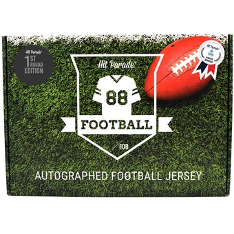 2021 Hit Parade Autographed 1st ROUND EDITION Football Jersey - Series 3 - Hobby 10 Box Case - Rodgers!!