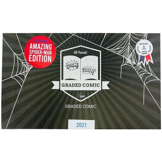 2021 Hit Parade The Amazing Spider-Man Graded Comic Ed 1-Box Ser 2- DACW Live 5 Spot Break #1