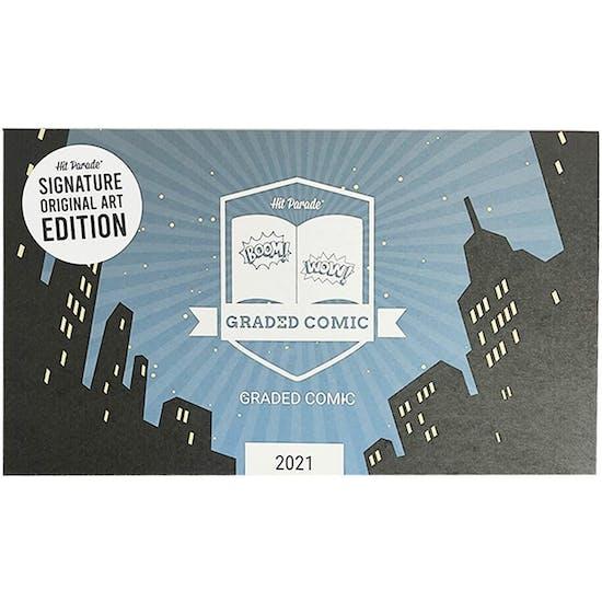 2021 Hit Parade Signature Series Original Art Edition - Series 1- 1-Box- DACW Live 5 Spot Break #9