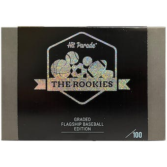 2021 Hit Parade The Rookies Graded Baseball Flagship Edition Series 1 - 10 Box Hobby Case /100 Soto-Tatis-Ohta