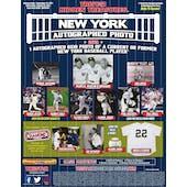 2021 TriStar Hidden Treasures Baseball New York Autographed Photo Edition Hobby Case (15 Ct.)