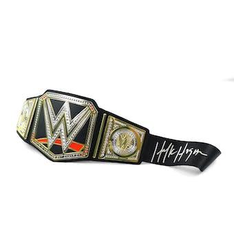 Hulk Hogan Autographed Wrestling Belt WWE (DA COA)