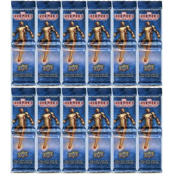 Marvel Iron Man 3 Trading Cards Rack Pack (Upper Deck 2013) (Lot of 60) (1800 Cards)!