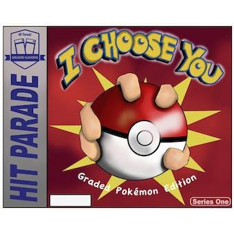 "2021 Hit Parade Pokemon ""I Choose You"" Series 1 Case- DACW Live 10 Spot Random Card Break #1"