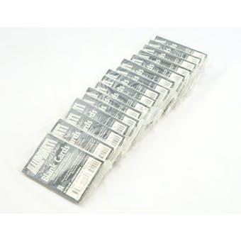 ILLUMINATI: NEW WORLD ORDER BLANK CARD PACK LOT - 17 PACKS!! (Reed Buy)