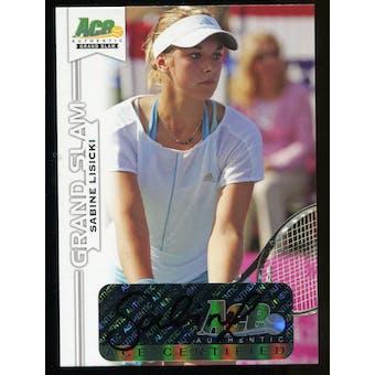 2013 Leaf Ace Authentic Grand Slam #BASL1 Sabine Lisicki Autograph
