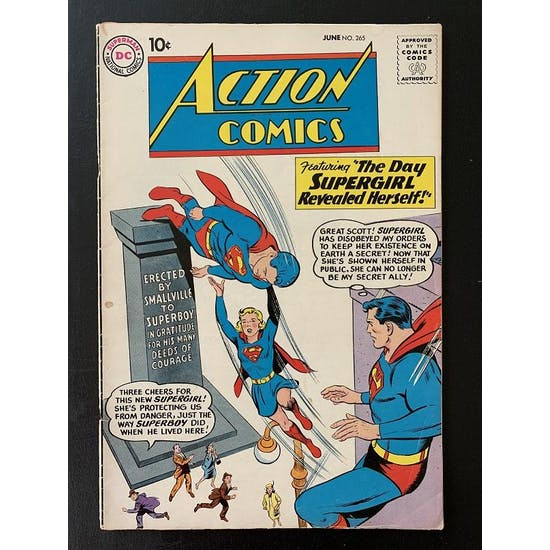Action Comics #264 GD+