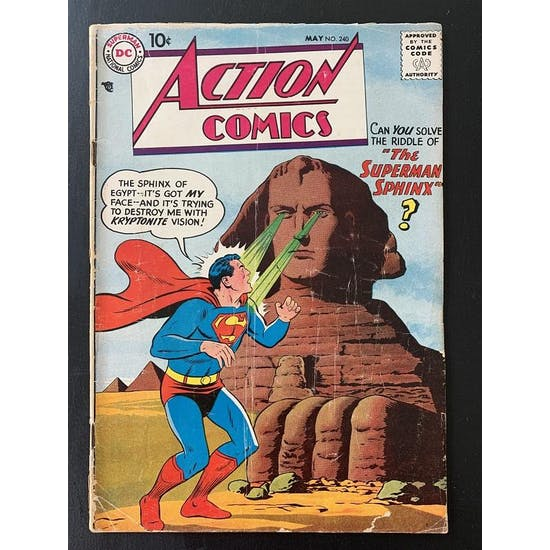Action Comics #240 GD+