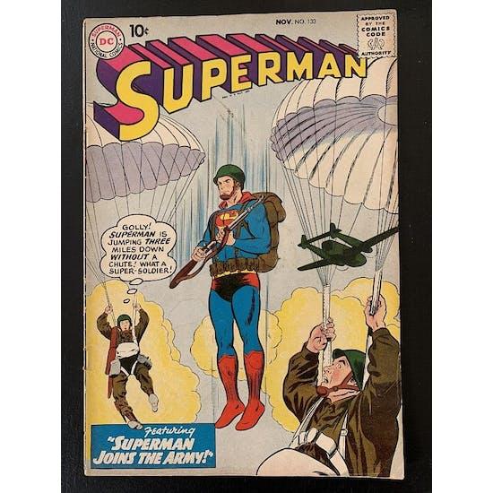 Superman #133 VG