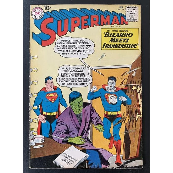 Superman #143 VG+