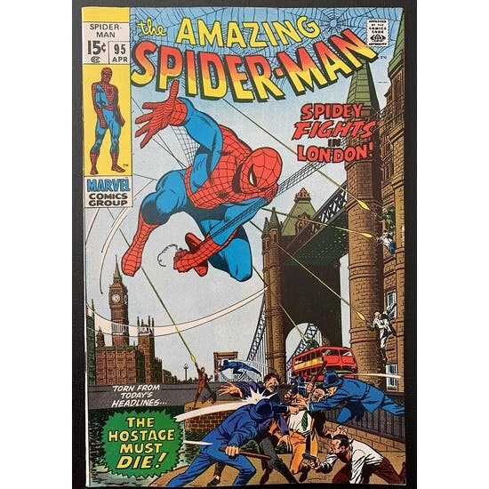 Amazing Spider-Man #95 VF+