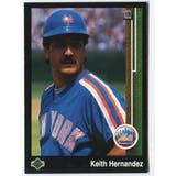 1989 Upper Deck Keith Hernandez New York Mets Blank Back Black Border Proof