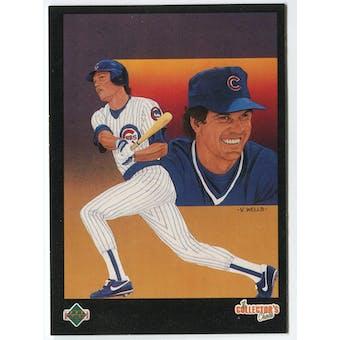 1989 Upper Deck Ryne Sandberg Chicago Cubs Blank Back Black Border Proof