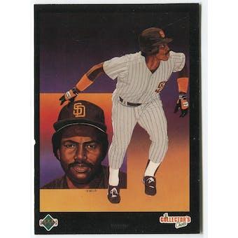 1989 Upper Deck Tony Gwynn San Diego Padres Blank Back Black Border Proof
