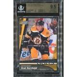 2009/10 Upper Deck #452 Brad Marchand YG RC BGS 9.5