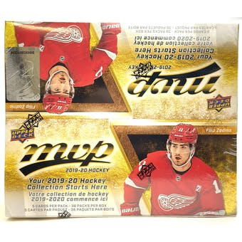 2019/20 Upper Deck MVP Hockey 36-Pack Box