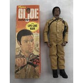 GI Joe Black Adventurer Adventure Team Figure in Original Box