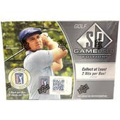 2021 Upper Deck SP Game Used Golf Hobby Box