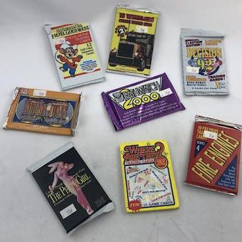 VARIOUS ENTERTAINMENT PACKS LOT # 4 - 483 TOTAL PACKS!! (Reed Buy)