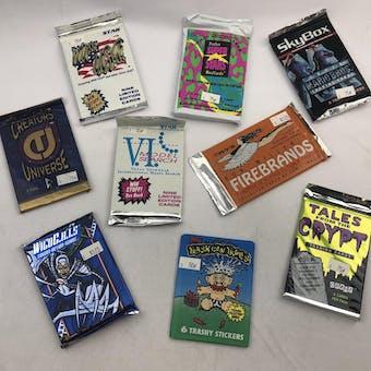 VARIOUS ENTERTAINMENT PACKS LOT # 5 - 549 TOTAL PACKS!! (Reed Buy)