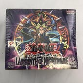 Upper Deck Yu-Gi-Oh Labyrinth of Nightmare Unlimited LON Booster Box (36-Pack) EX-MT