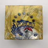 Pokemon Base Set 1 French Booster Box 1st Edition (B)