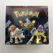 Pokemon Neo 3 Revelation 1st Edition Booster Box (A)